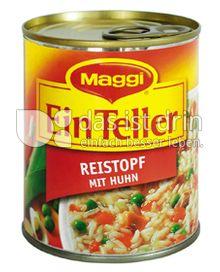 Produktabbildung: Maggi Ein Teller Reistopf mit Huhn 325 g