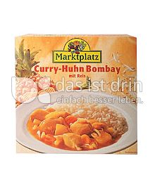 Produktabbildung: Marktplatz Curry-Huhn Bombay 310 g