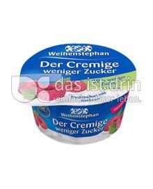 Produktabbildung: Weihenstephan Der Cremige weniger Zucker Himbeere 150 g