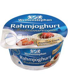 Produktabbildung: Weihenstephan Rahmjoghurt Bayerisch Creme Erdbeere 150 g