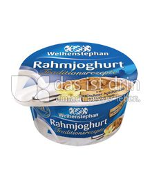 Produktabbildung: Weihenstephan Rahmjoghurt Münchener Apfelstrudel mit Bourbon Vanille 150 g