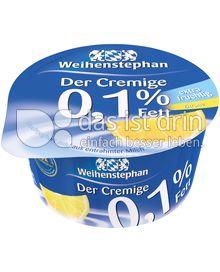 Produktabbildung: Weihenstephan Der Cremige Zitrone 0,1% 150 g