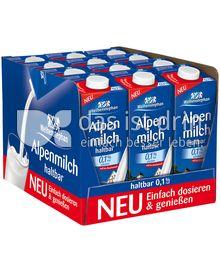 Produktabbildung: Weihenstephan Haltbare Alpenmilch 0,1 % Fett 12 l