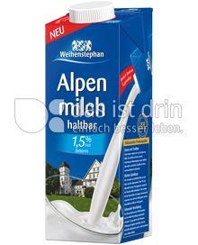 Produktabbildung: Weihenstephan Haltbare Alpenmilch 1,5 % Fett 1 l