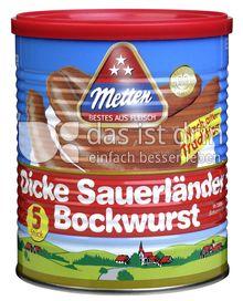 Produktabbildung: Metten Dicke Sauerländer Bockwurst mit Milcheiweiß 845 g