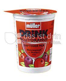Produktabbildung: Müller Blutorangen-Drink 500 ml