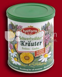 Produktabbildung: KALFANY SCHWARZWÄLDER KRÄUTERBONBONS 250 g