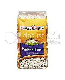 Produktabbildung: Müller`s Mühle Weiße Bohnen 500 g