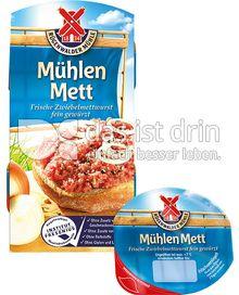 Produktabbildung: Mühlen Mett Frische Zwiebelwurst fein gewürzt 125 g