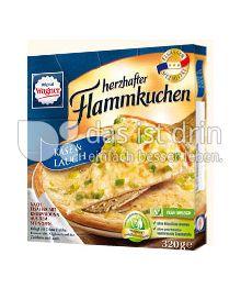 Produktabbildung: Original Wagner herzhafter Flammkuchen Käse & Lauch 320 g