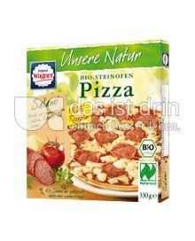 Produktabbildung: Original Wagner Unsere Natur Steinofen-Pizza Salami 330 g