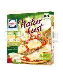 Produktabbildung: Original Wagner NaturLust Bio-Pizza Mozzarella 350 g