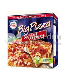 Produktabbildung: Original Wagner Big Pizza Salami Paprika 410 g