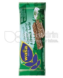 Produktabbildung: Wasa Sandwich Cream Cheese & French Herbs 40 g