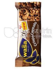 Produktabbildung: Wasa Crisp & Cereals Haselnuss & Schokolade