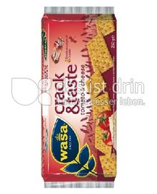 Produktabbildung: Wasa Cracker Taste Tomato & Cheese 250 g