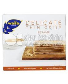 Produktabbildung: Wasa Delicate Thin Crisp Sesame 180 g