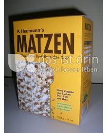 Produktabbildung: P. Heumann´s Matzen 250 g