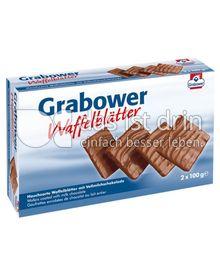 Produktabbildung: Grabower Bio Waffelblätter Vollmilch 100 g