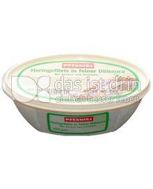 Produktabbildung: Pfennigs Sahne-Herings-Filets in Dillsauce 300 g