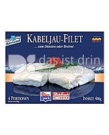 Produktabbildung: Pickenpack Kabeljau-Filet 400 g