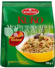 Produktabbildung: Wurzener KuKo MediterranerReis 150 g