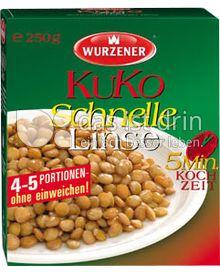 Produktabbildung: Wurzener KuKo Schnelle Linse 250 g