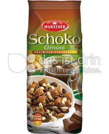 Produktabbildung: Wurzener Schoko-Genuss Vollmilch-Schokolade 250 g