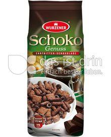Produktabbildung: Wurzener Schoko-Genuss Zartbitter-Schokolade 250 g