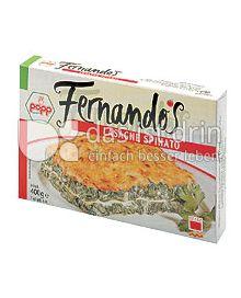Produktabbildung: Popp Fernandos Lasagne Spinato 400 g