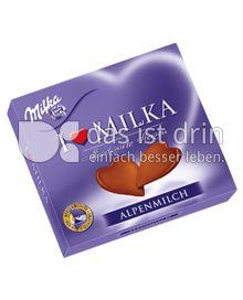 Produktabbildung: Milka I love Milka Hauchzarte Herzen Alpenmilch 130 g
