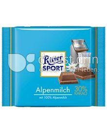 Produktabbildung: Ritter Sport Alpenmilch 30% Kakao 100 g