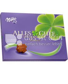 Produktabbildung: Milka Alles Gute Pralinés à la Dessert au Chocolat 125 g