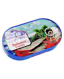 Produktabbildung: Rügen Heringsfilets in Tomaten Creme 200 g