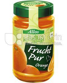 Produktabbildung: Allos Frucht Pur Orange 250 g