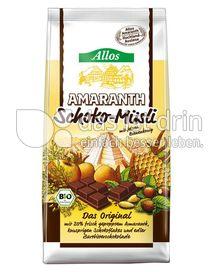 Produktabbildung: Allos Amaranth-Schoko-Müsli 500 g