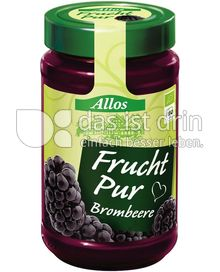Produktabbildung: Allos Frucht Pur Brombeere 250 g