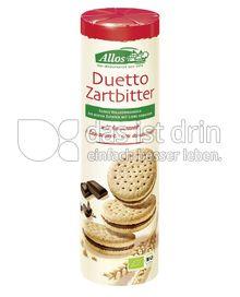 Produktabbildung: Allos Duetto Zartbitter 330 g