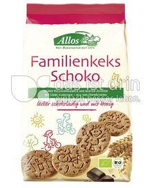 Produktabbildung: Allos Familienkeks Schoko 200 g