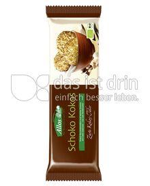 Produktabbildung: Allos Schoko Kokos Zarte Kokos-Taler 110 g