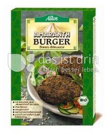 Produktabbildung: Allos Amaranth-Burger 140 g