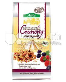 Produktabbildung: Allos Amaranth-Crunchy Beerenfrucht 400 g