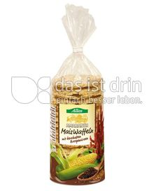 Produktabbildung: Allos Amaranth-Maiswaffeln 130 g