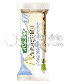 Produktabbildung: Allos Amaranth Mais-Waffel-Joghurt 37 g