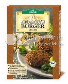 Produktabbildung: Allos Amaranth-Burger Classic 140 g