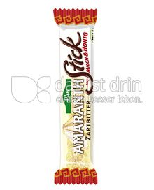 Produktabbildung: Allos Amaranth Stick Zartbitter 20 g