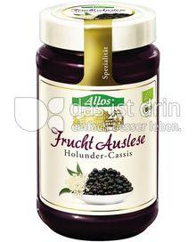 Produktabbildung: Allos Frucht-Auslese Holunder-Cassis 250 g