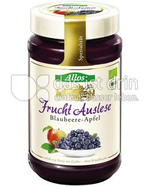 Produktabbildung: Allos Frucht-Auslese Blaubeere-Apfel 250 g