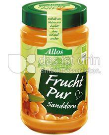 Produktabbildung: Allos Frucht Pur Sanddorn 250 g