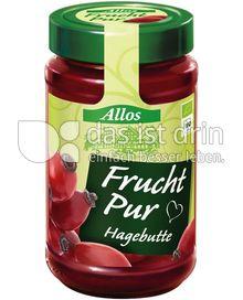 Produktabbildung: Allos Frucht Pur Hagebutte 250 g